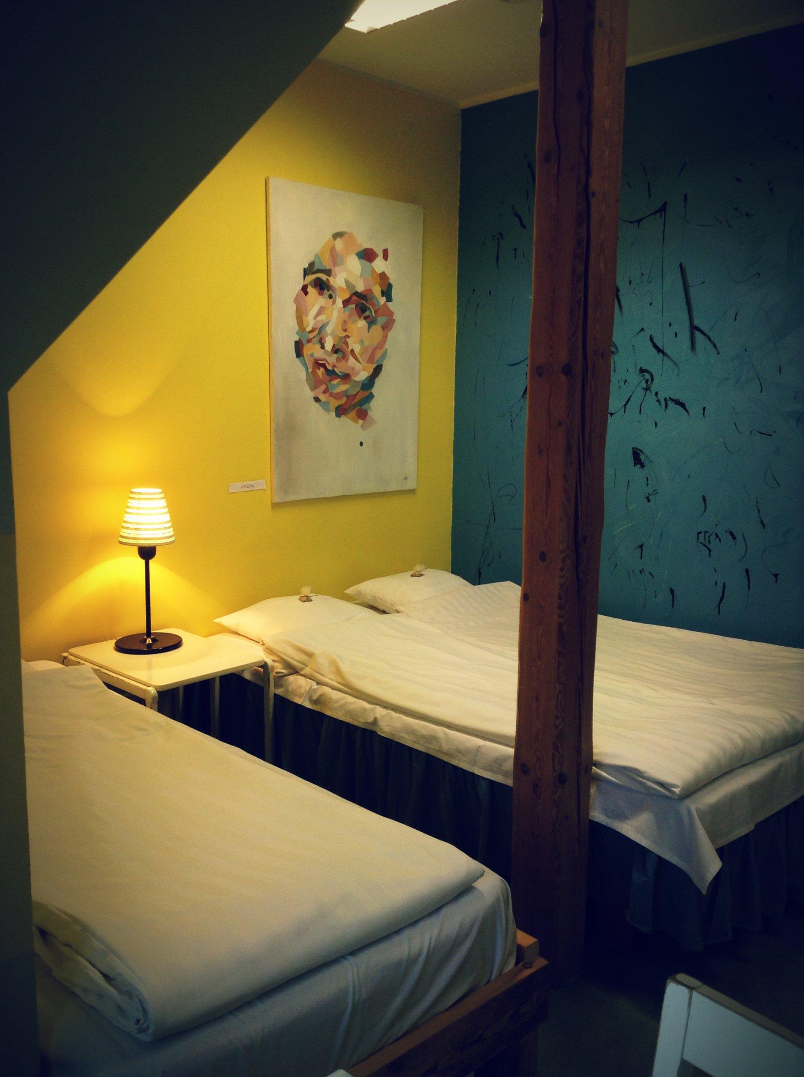 Double Room, Looming Hostel, Tartu Accommodation, Estonia