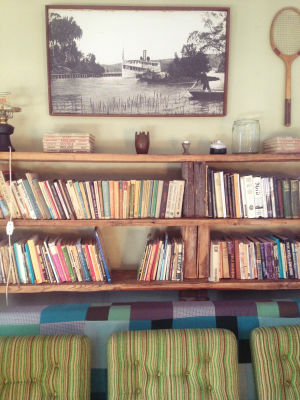 Library In Looming Hostel, Tartu, Estonia