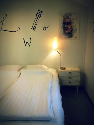 Looming Hostel Double Room, Tartu Accommodation, Estonia